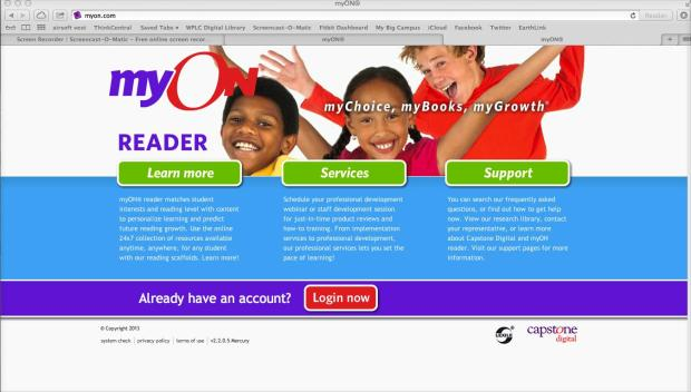 Login to MyOn