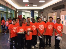 Super Bear5th Students went to Yankee Stadium today 9/25/17